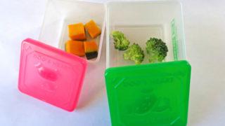 ハムスター用の生野菜の保存はタッパーで