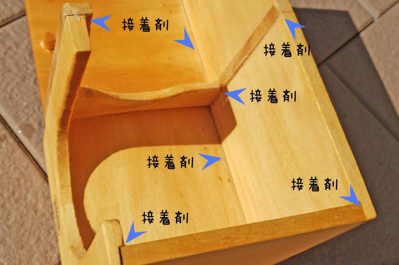 ハムスター巣箱に使われる接着剤